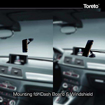 Toreto Magnetic Car Mobile Holder for Dashboard And Windshield CIINCH-TOR 100