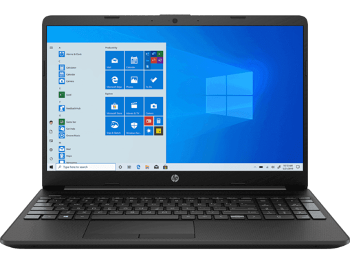 Picture of HP 15s Core i5 10th Gen Thin and Light Laptop du1065TU With Bag